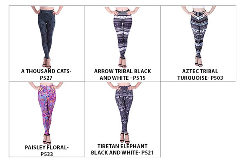 55fd5a6cc6b Women s Plus Size Ultra Soft Leggings Cute Digital Print Elastic ...